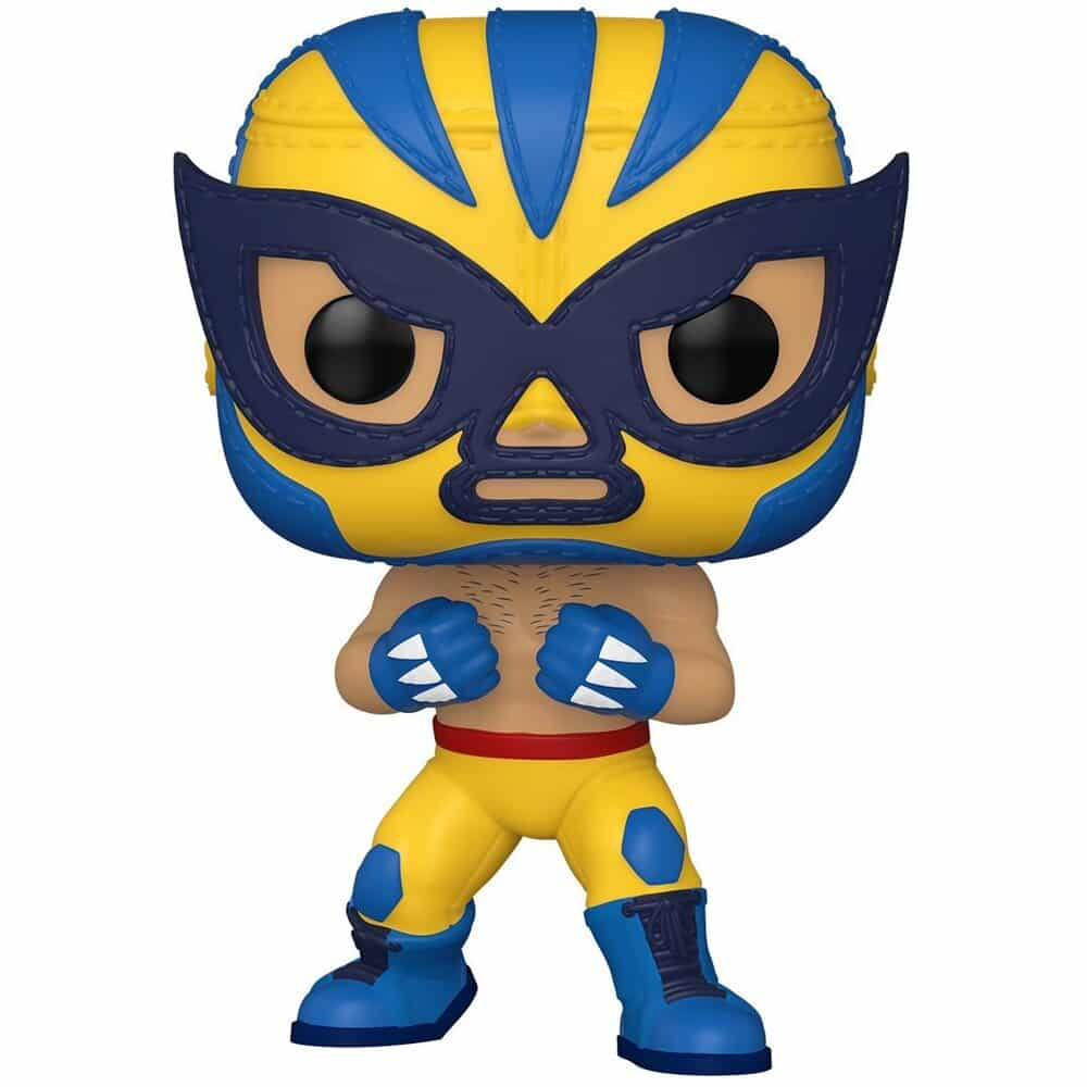 Funko Pop! Marvel Luchadores (Lucha Libre) - El Animal Indestructible Wolverine Funko Pop! Vinyl Figure