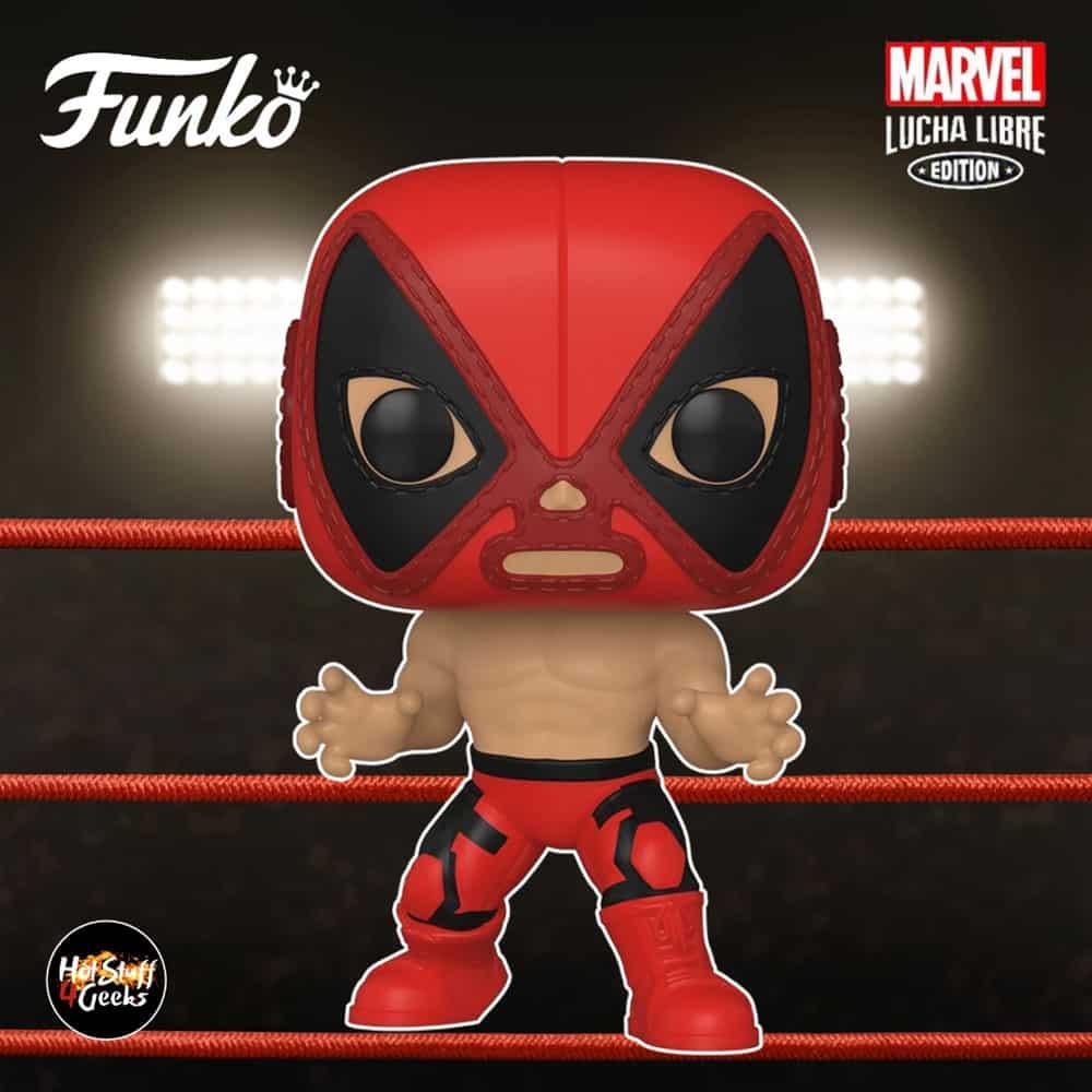 Funko Pop! Marvel Luchadores (Lucha Libre) - El Chimichanga De La Muerte Deadpool Funko Pop! Vinyl Figure