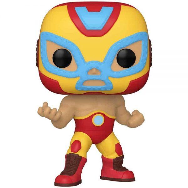 Funko Pop! Marvel Luchadores (Lucha Libre) - El Heroe El Heroe Invicto Iron Man Funko Pop! Vinyl Figure