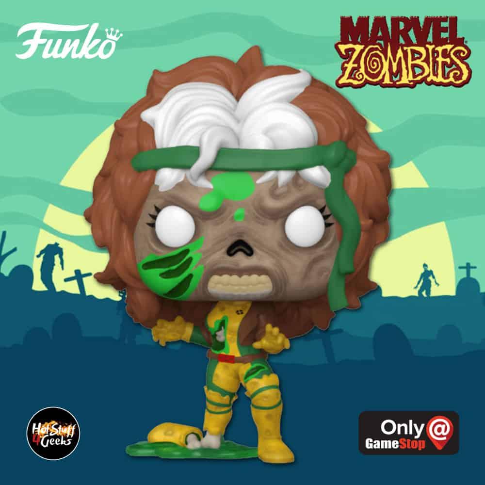 Funko Pop! Marvel Zombies: Zombie Rogue Funko Pop! Vinyl Figure - GameStop Exclusive