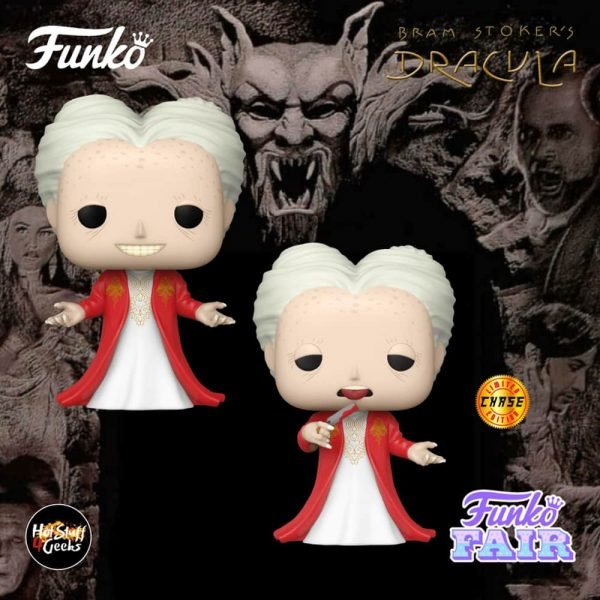Funko Pop! Movies Bram Stoker's Dracula - Dracula With Chase Variant Funko Pop! Vinyl Figure
