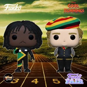 "Funko Pop! Movies: Cool Runnings - Sanka Coffie and Irving ""Irv"" Blitzer Funko Pop! Vinyl Figures"