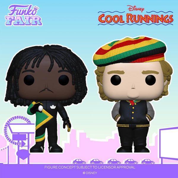 "Funko Pop! Movies: Cool Runnings - Sanka Coffie and Irving ""Irv"" Blitzer Funko Pop! Vinyl Figures"