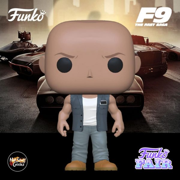 Funko Pop! Movies Fast & Furious F9 - Dominic Toretto Funko Pop! Vinyl Figure