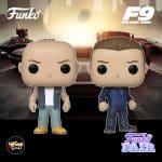 Funko Pop! Movies: Fast & Furious F9 - Dominic Toretto and Jakob Toretto Funko Pop! Vinyl Figures