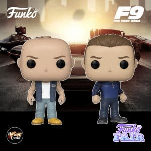 Funko Pop! Movies: Fast & Furious F9 - Dominic Toretto and Jakob Toretto Funko Pop! Vinyl Figures