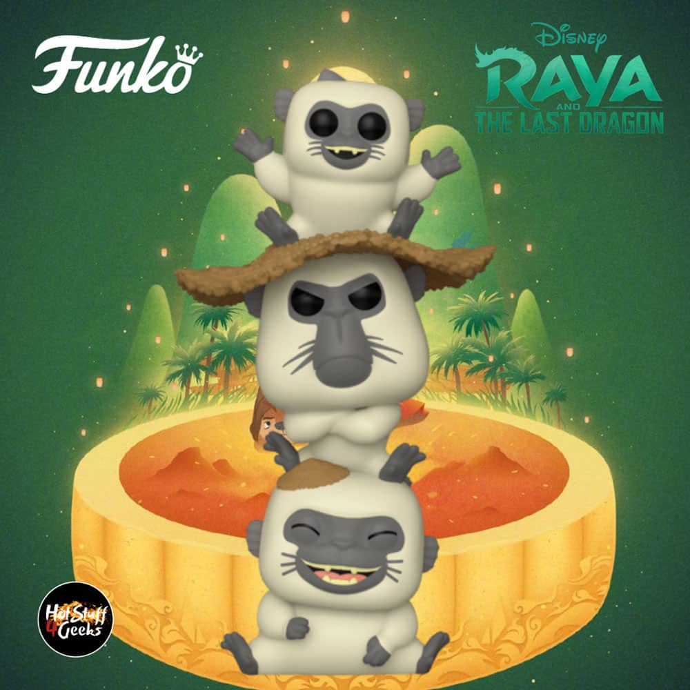 Funko Pop! Movies Raya and the Last Dragon - Ongi Funko Pop! Vinyl Figure