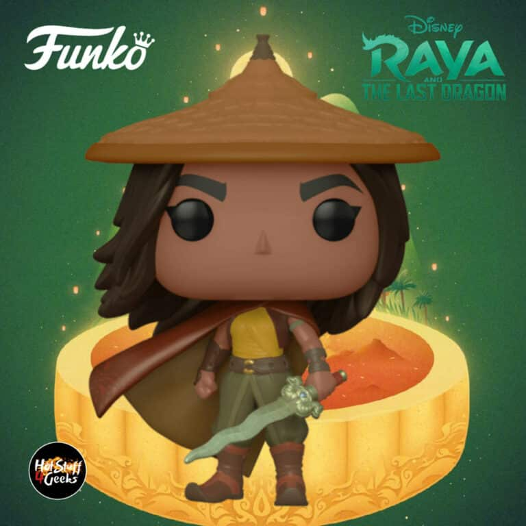 Funko Pop! Movies Raya and the Last Dragon - Raya Funko Pop! Vinyl Figure