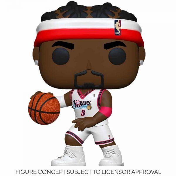 Funko Pop! NBA Legends - Allen Iverson (Sixers Home) Pop! Vinyl Figure