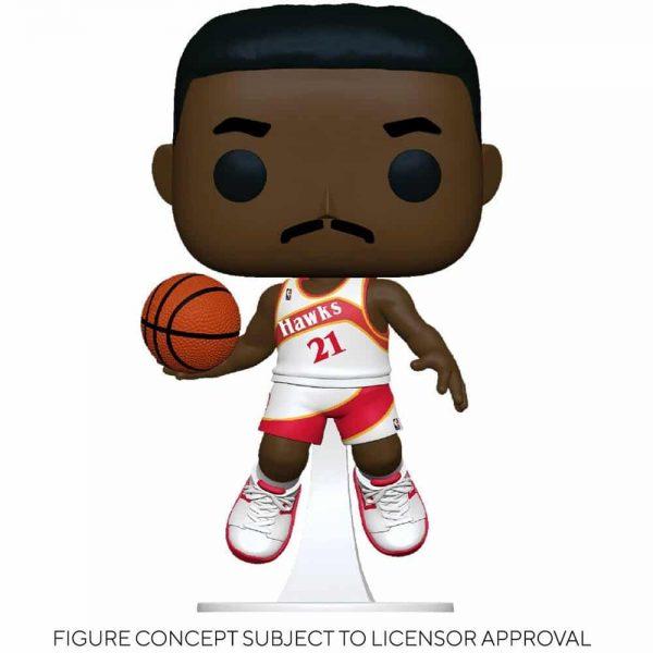 Funko Pop! NBA Legends - Dominique Wilkins (Hawks Home) Pop! Vinyl Figure