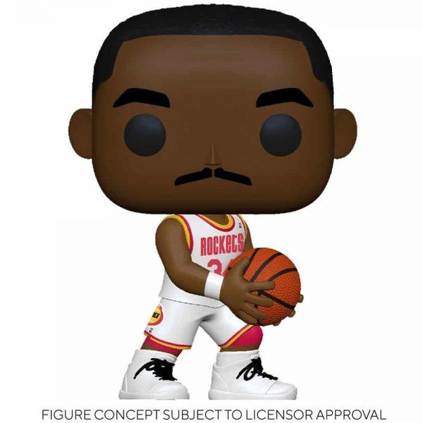 Funko Pop! NBA Legends - Hakeem Olajuwon (Rockets Home) Pop! Vinyl Figure