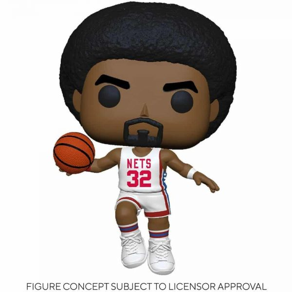 Funko Pop! NBA Legends - Julius Erving (Nets Home) Pop! Vinyl Figure