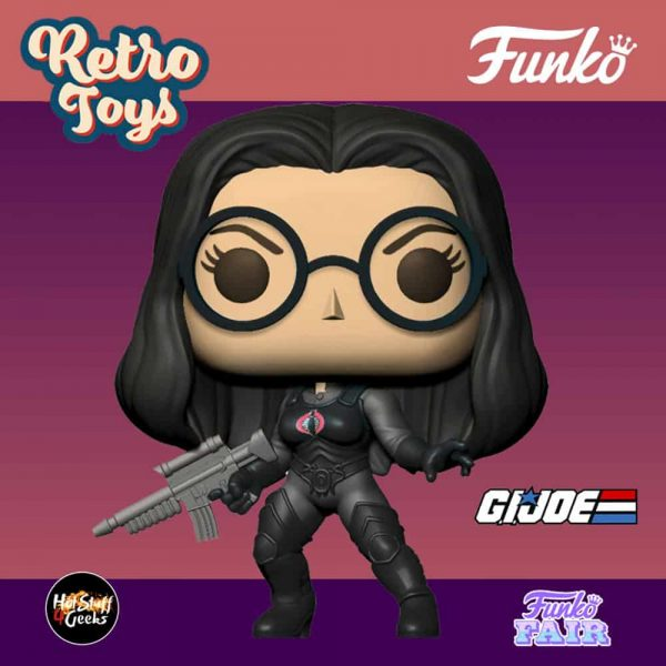 Funko Pop! Retro Toys G.I. Joe - The Baroness Funko Pop! Vinyl Figure
