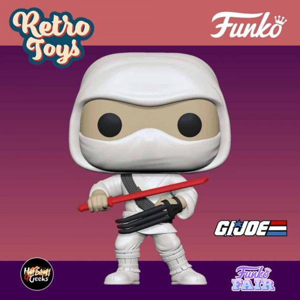 Funko Pop! Retro Toys: G.I. Joe - Version 2 Storm Shadow Funko Pop! Vinyl Figure