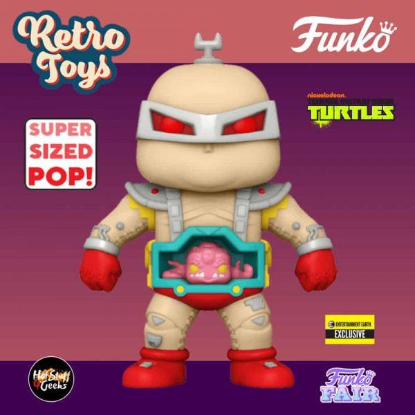 Funko Pop! Retro Toys: Teenage Mutant Ninja Turtles (TMNT) - Krang 6-Inch Funko Pop! Vinyl Figure - Entertainment Earth Exclusive