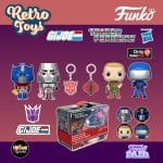 Funko Pop! Retro Toys Transformers vs G.I. Joe Box Mystery Box - Game Stop Exclusive