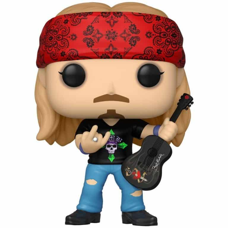 2021 NEW Funko Pop! Rocks: Bret Michaels With Chase