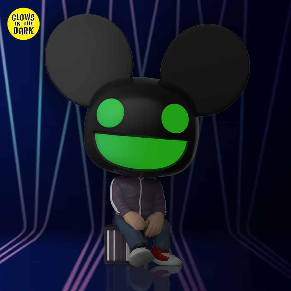 Funko Pop! Rocks: Deadmau5 Glow-In-The-Dark (GITD) Funko Pop! Vinyl Figure - Funko Shop Exclusive