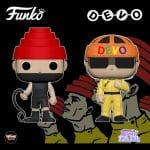 Funko Pop! Rocks: Devo - Whip It with Whip and Satisfaction (Yellow Suit) Pop! Vinyl Figures