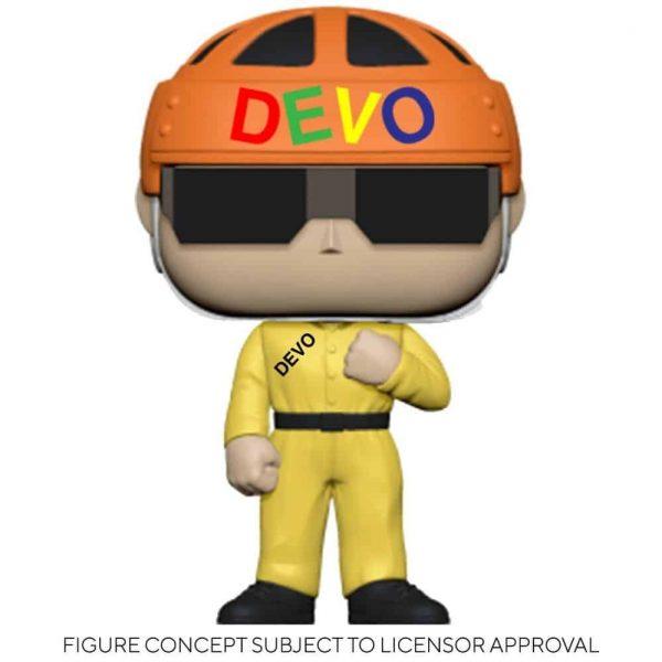 Funko Pop! Rocks Devo - Satisfaction (Yellow Suit) Pop! Vinyl Figure