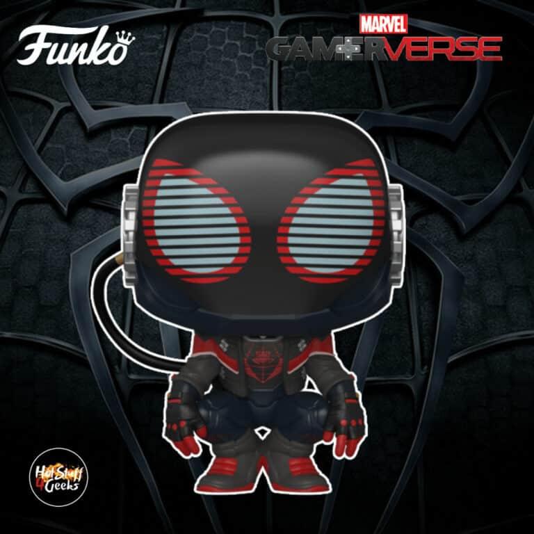 Funko Pop! Spider-Man Miles Morales Game - Miles Morales 2020 Suit Funko Pop! Vinyl Figure