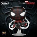 Funko Pop! Spider-Man Miles Morales Game - Miles Morales Advanced Tech Suit Funko Pop! Vinyl Figure