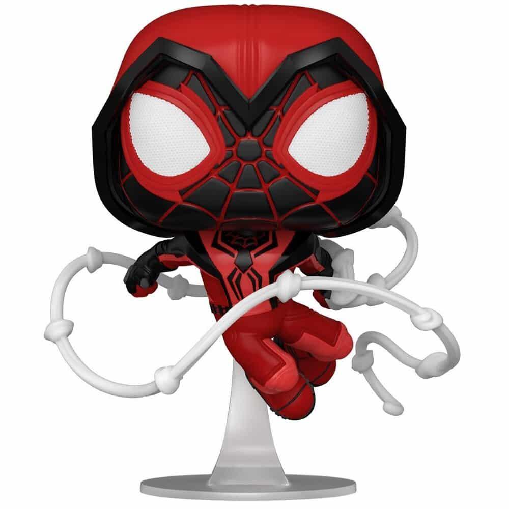 Funko Pop! Spider-Man Miles Morales Game - Miles Morales Crimson Cowl Suit Funko Pop! Vinyl Figure