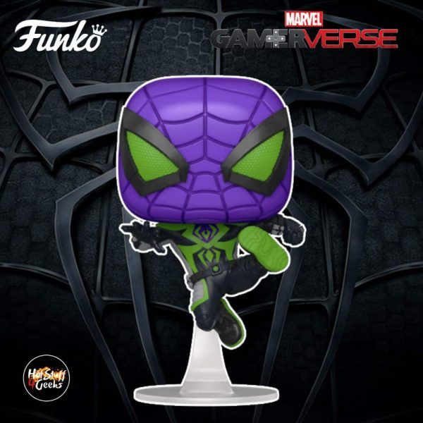 Funko Pop! Spider-Man Miles Morales Game - Miles Morales Metallic Suit Funko Pop! Vinyl Figure
