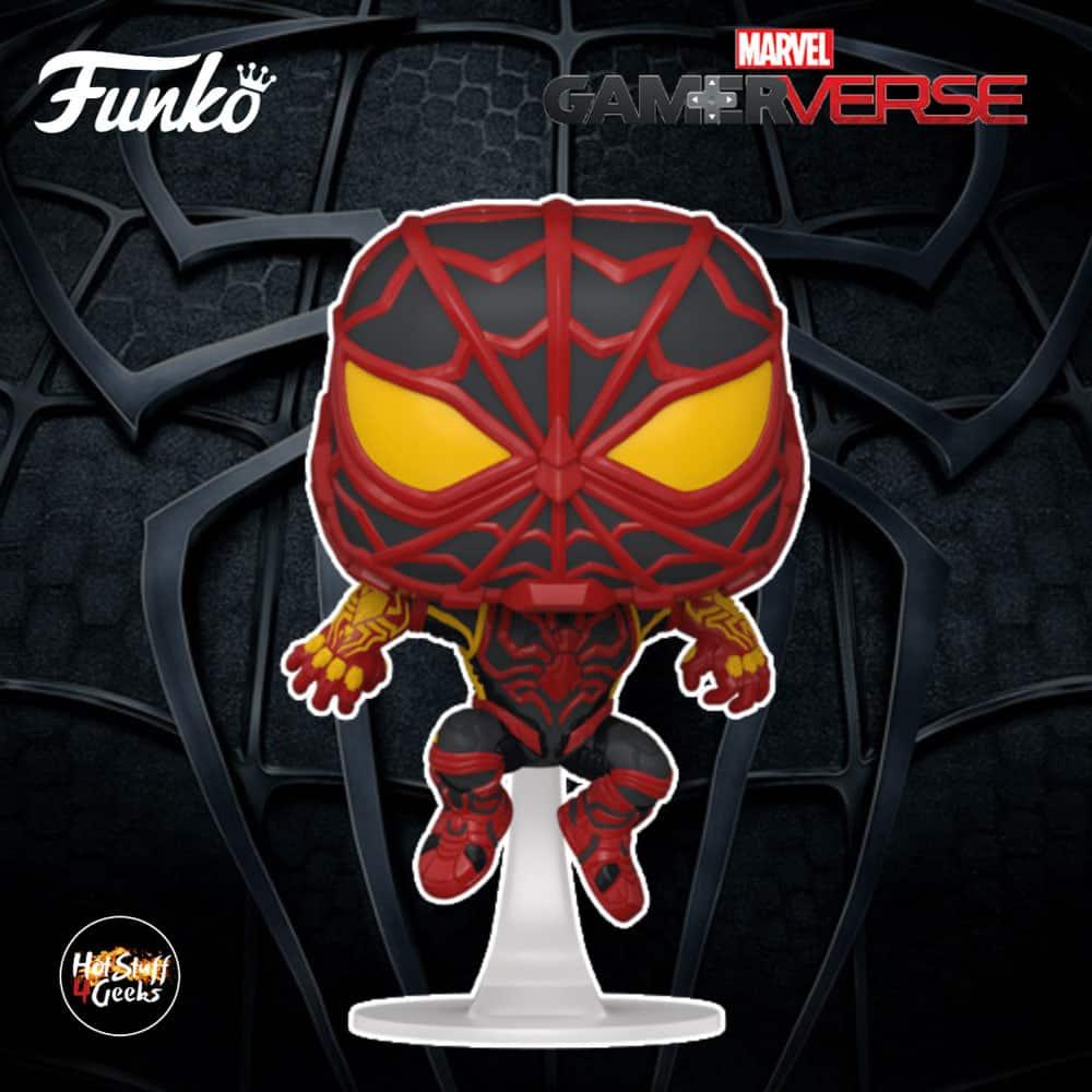 Funko Pop! Spider-Man Miles Morales Game - Miles Morales STRIKE Suit Funko Pop! Vinyl Figure