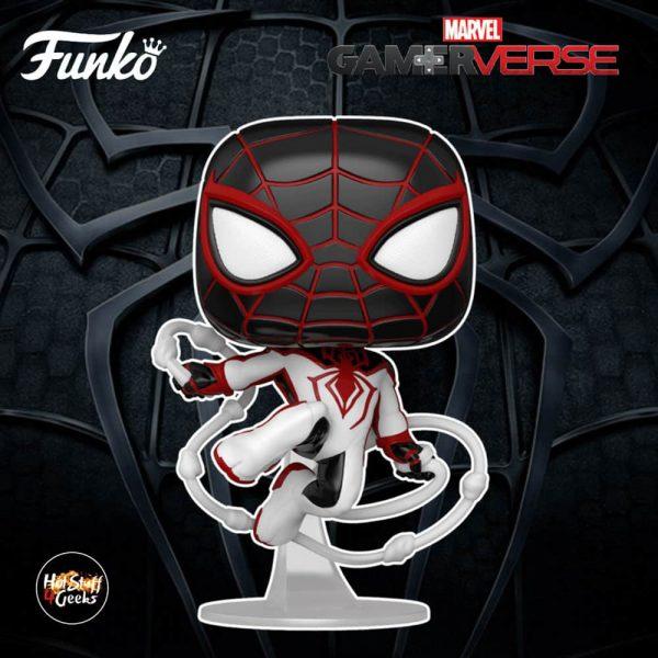 Funko Pop! Spider-Man Miles Morales Game - Miles Morales Track Suit Funko Pop! Vinyl Figure