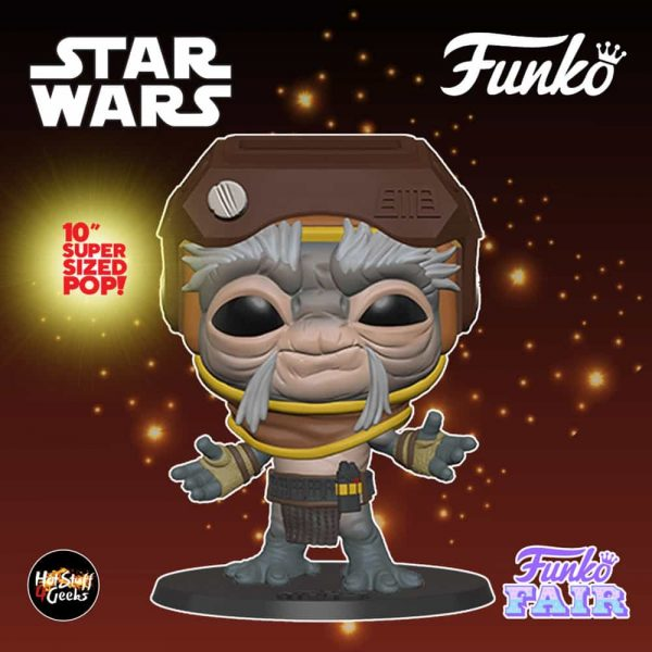 Funko Pop! Star Wars The Rise of Skywalker - Babu Frik 10-Inch Funko Pop! Vinyl Figure