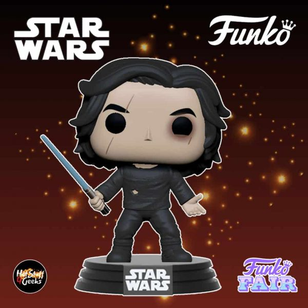 Funko Pop! Star Wars The Rise of Skywalker - Ben Solo with Blue Saber Funko Pop! Vinyl Figure