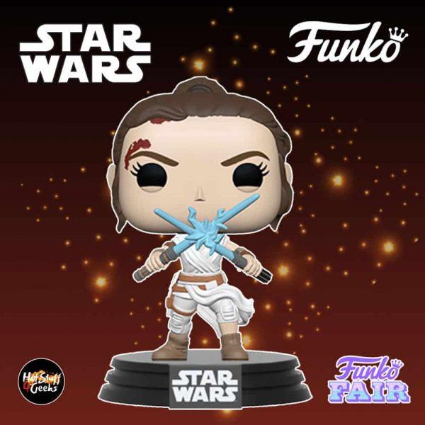 Funko Pop! Star Wars: The Rise of Skywalker - Rey with 2 Blue Lightsabers Funko Pop! Vinyl Figure