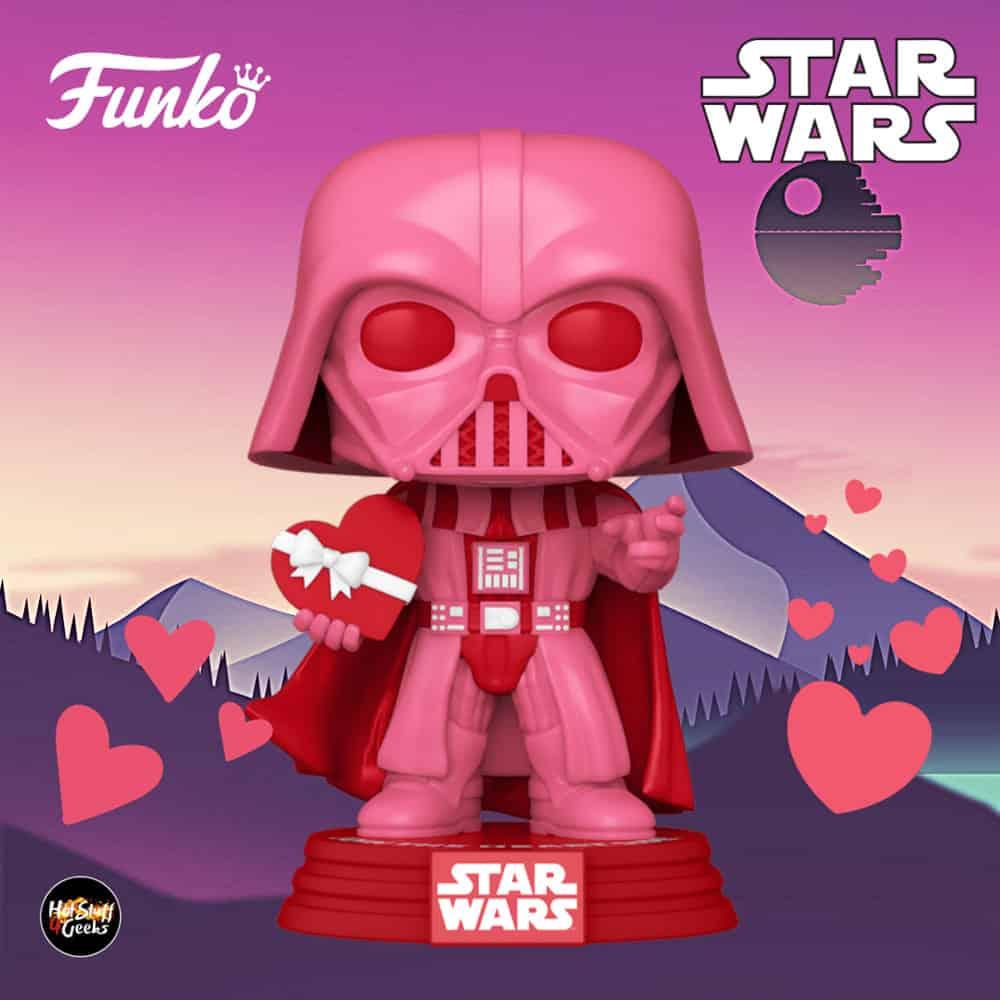 Funko Pop! Star Wars Valentine's Day - Darth Vader with Heart Funko Pop! Vinyl Figure