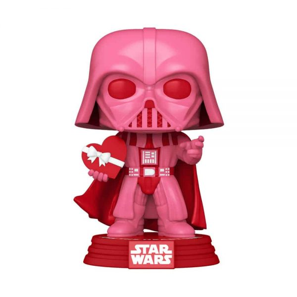Funko Pop! Star Wars Valentine's Day - Darth Vader with Heart Funko Pop! Vinyl Figure