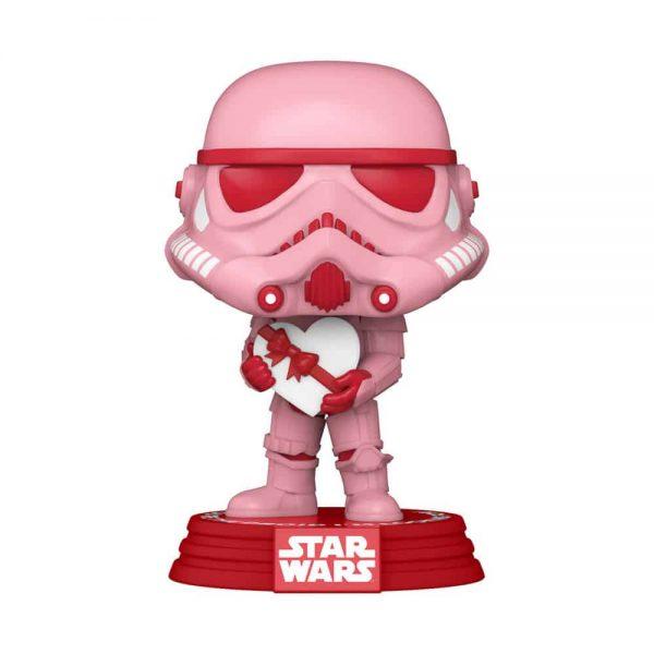 Funko Pop! Star Wars Valentine's Day - Stormtrooper with Heart Funko Pop! Vinyl Figure
