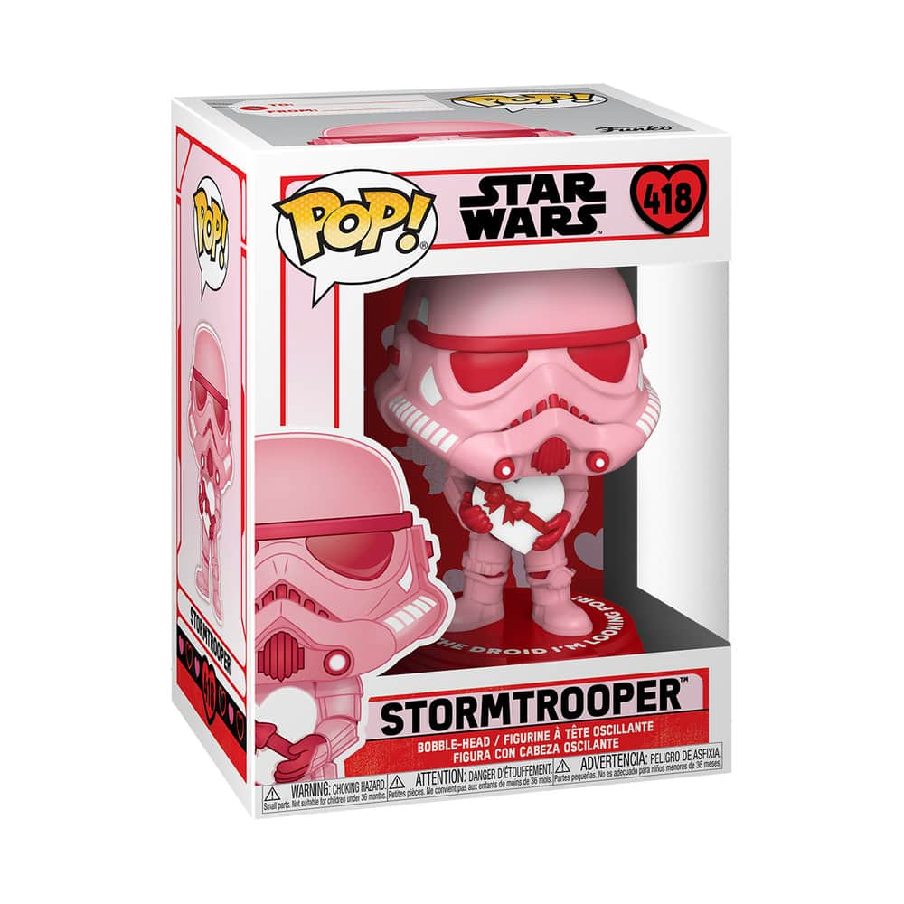 Funko Pop! Star Wars Valentine's Day - Stormtrooper with Heart Funko Pop! Vinyl Figure
