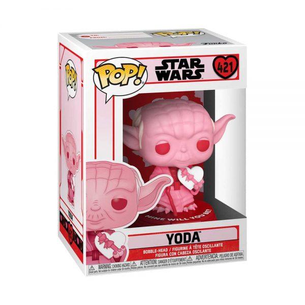 Funko Pop! Star Wars Valentine's Day - Yoda with Heart Funko Pop! Vinyl Figure