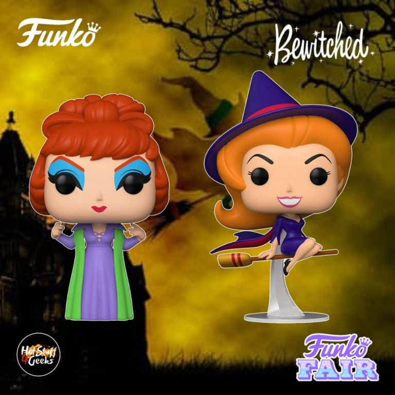 Funko Pop! Bewitched - Endora, and Samantha Stephens as Witch Funko Pop! Vinyl Figures