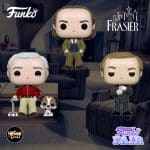 Funko Pop! Television: Frasier - Frasier, Niles and Martin with Eddie Pop! Vinyl Figures - Funko Fair 2021