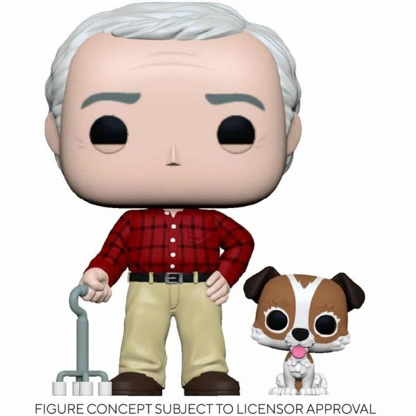 Funko Pop! Television Frasier - Martin with Eddie Pop! Vinyl Figure