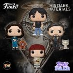 Funko Pop! Television: His Dark Materials - Lyra with Pan Daemon, Mrs. Coulter with Golden Monkey Daemon, Asriel with Stelmaria Daemon, Lee with Hester Daemon Funko Pop! Vinyl Figures