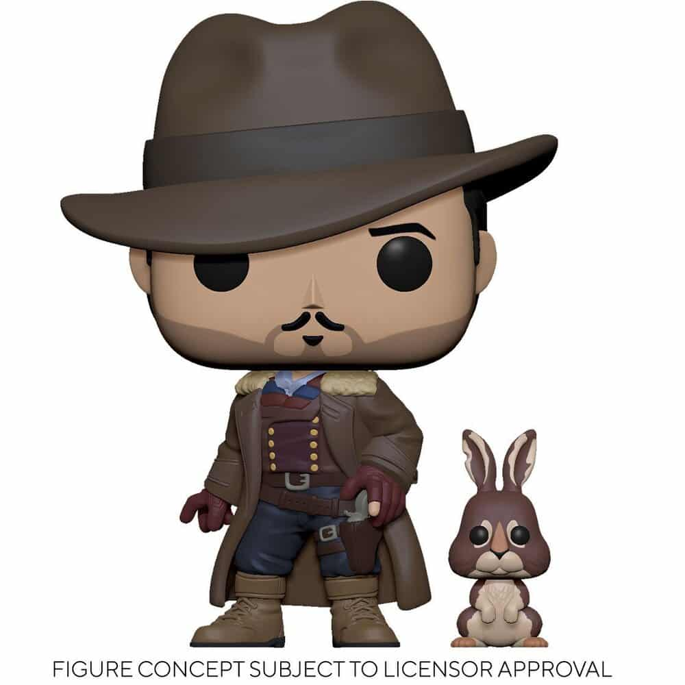 Funko Pop! Television: His Dark Materials - Lee with Hester Daemon Funko Pop! Vinyl Figure
