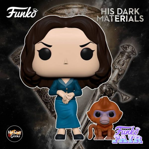 Funko Pop! Television His Dark Materials - Marisa Coulter with Golden Monkey Daemon Funko Pop! Vinyl Figure
