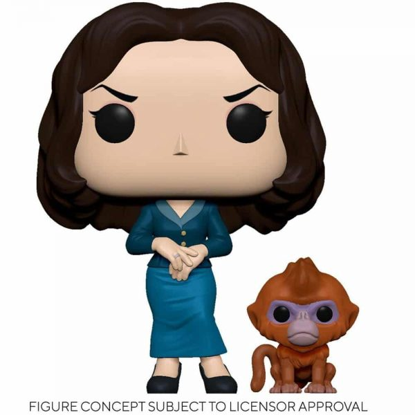 Funko Pop! Television: His Dark Materials - Mrs. Coulter with Golden Monkey Daemon Funko Pop! Vinyl Figure