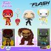 Funko Pop! Television: The Flash Fastest Man Alive: The Flash Godspeed, The Flash, Bloodwork, Killer Frost, The Flash Godspeed GITD, and The Flash GITD Funko Pop! Vinyl Figures - Funko Fair 2021
