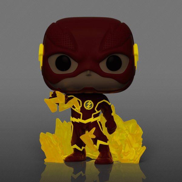 Funko Pop! Television The Flash Fastest Man Alive The Flash Glow-In-The-Dark Funko Pop! Vinyl Figure - Funko Shop Exclusive
