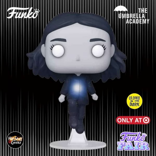 Funko Pop! Television: The Umbrella Academy - Vanya Glow-In-The-Dark (GITD) Funko Pop! Vinyl Figure - Target Exclusive