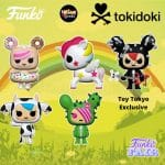 Funko Pop! Tokidoki - Stellina, Donutella, SANDy, Mozzerella, and Cactus Rocker (Toy Tokyo Exclusive) Funko Pop! Vinyl Figures