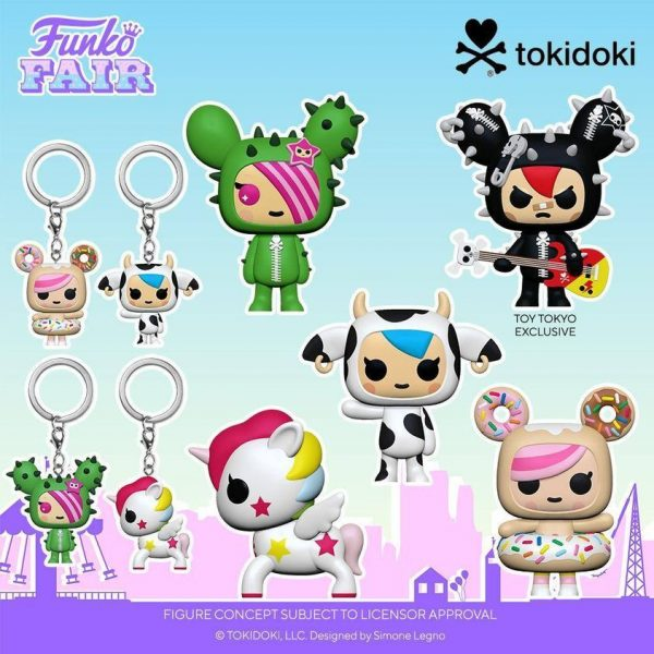 Funko Pop! Tokidoki - Stellina, Donutella, SANDy, Mozzerella, and Cactus Rocker (Toy Tokyo Exclusive) Funko Pop! Vinyl Figures